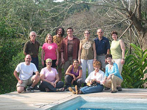 group travel at the belize jungle dome